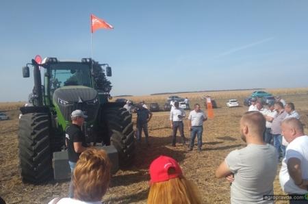 Под Киевом испытали трактор Fendt 936 нового поколения