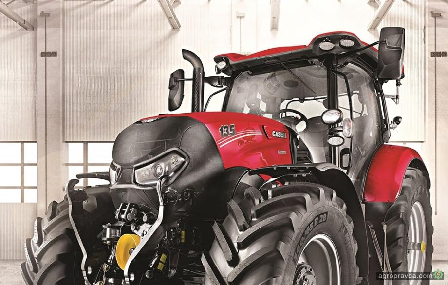 Трактори Case IH отримали надзвичайне лакофарбове покриття