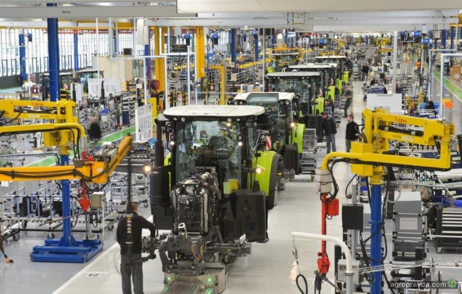 Claas в 2 раза увеличивает мощности по производству тракторов