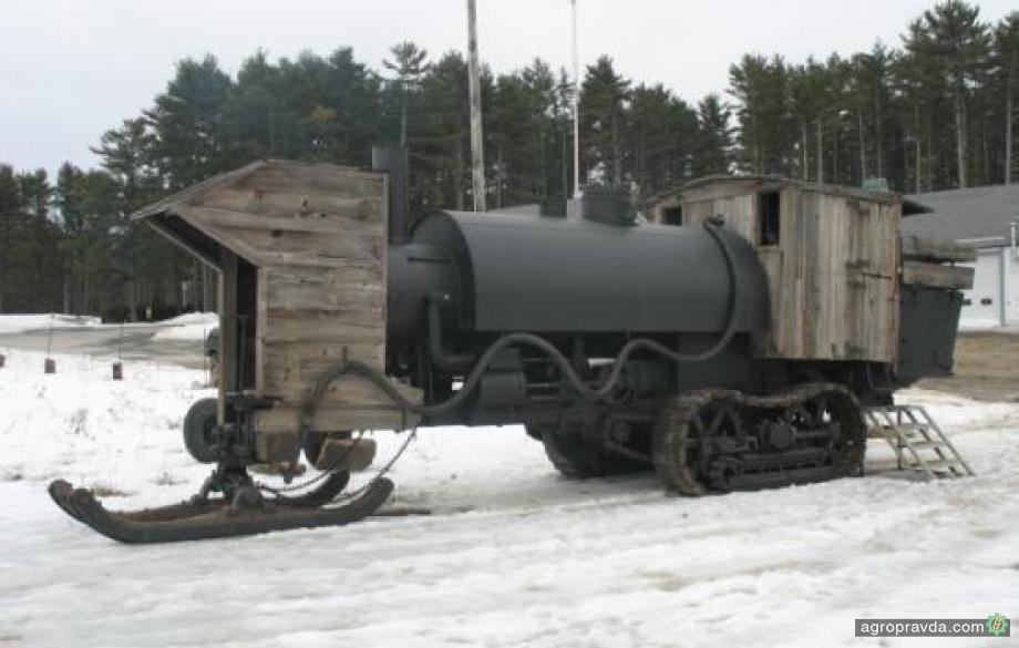 Предок современных тракторов. Видео