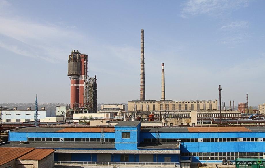 Северодонецкий «Азот» в январе выпустил 97 тыс. тонн минудобрений