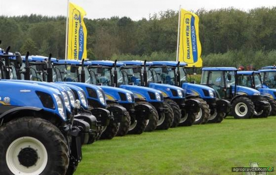 New Holland отметил 100-летие тракторов Ford и Fiat