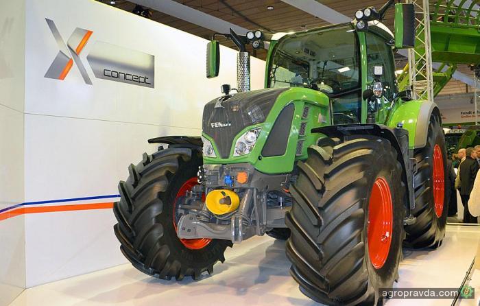 Представлен «электрический» трактор Fendt X Concept