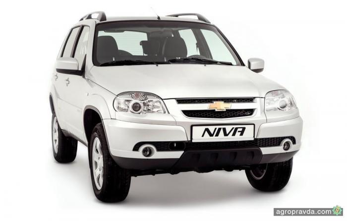 Chevrolet Niva стала доступнее на 30 000 грн.