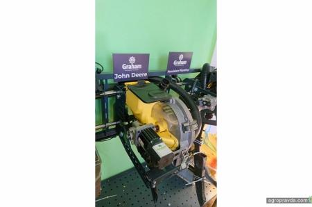Стенд для тестування та налаштування висівних апаратів SteerMaxSeed