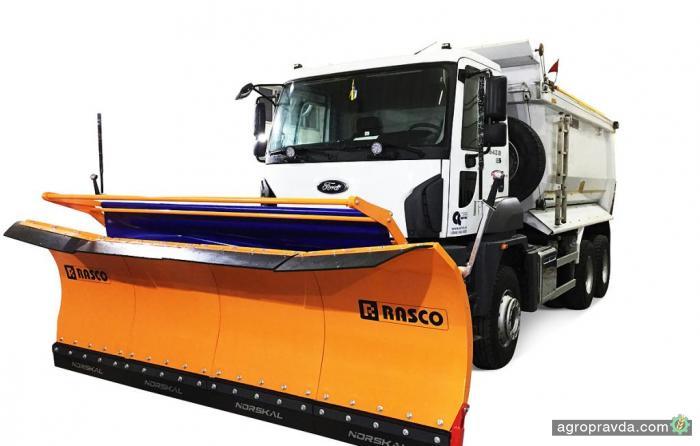 АВТЕК предлагает универсальное решение RASCO для уборки снега
