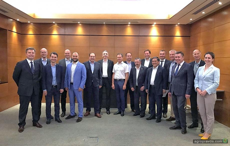 Украину посетило высшее руководство Claas
