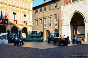 Китайцы возродили производство итальянских комбайнов
