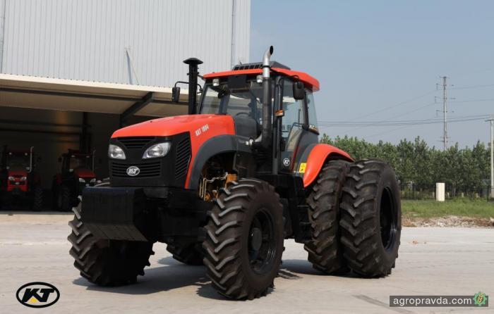 На рынок Украины стремится новый бренд китайских тракторов