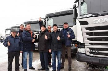 Аграрии уже начали получать зерновозы Scania в новом сезоне