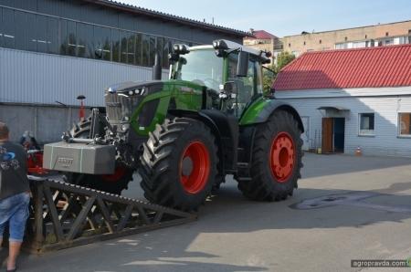 Новейший Fendt 900 прибыл в Украину