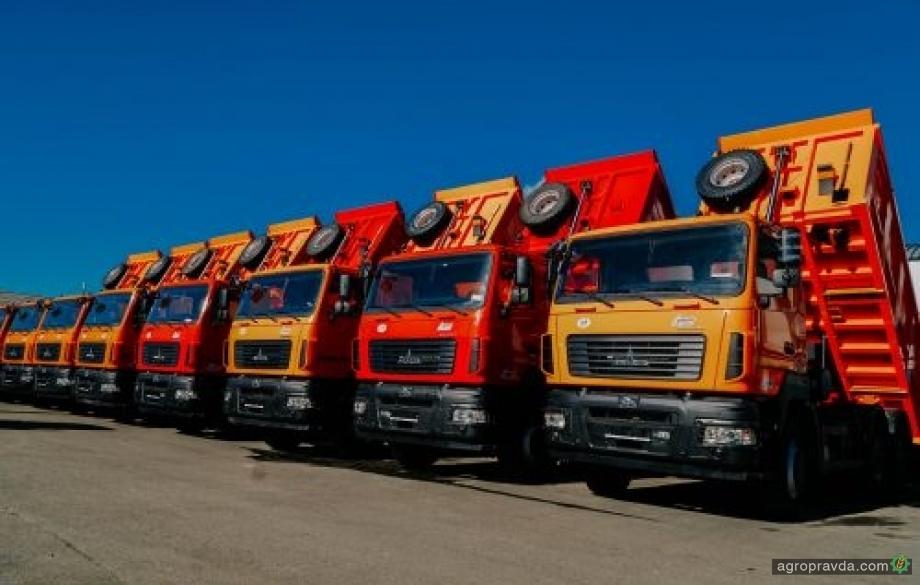 Украина вводит спецпошлину на грузовики из Беларуси