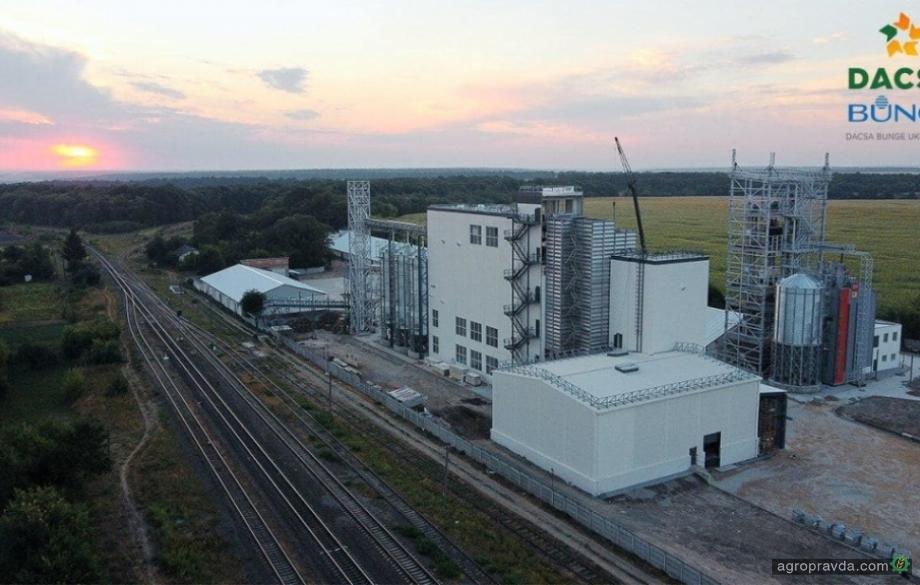 В Винницкой области открыли завод по переработке кукурузы мощностью 100 тысяч тонн