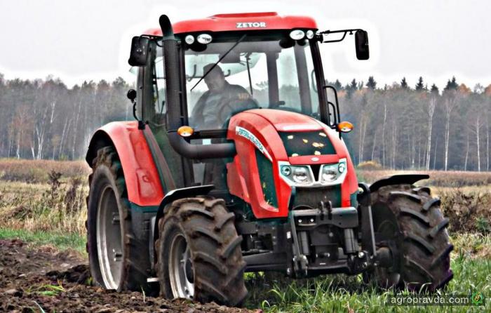Zetor договорился о поставке в РФ 6 тыс. тракторов