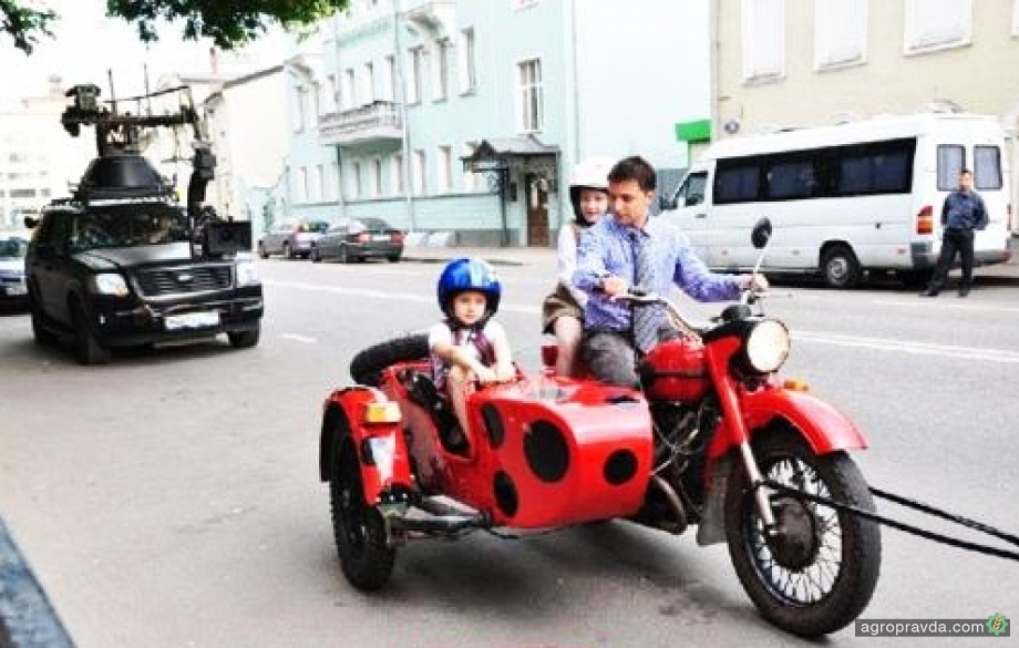 Новый президент Украины оказался любителем мотоциклов