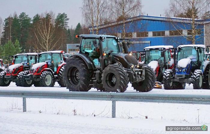 Самый северный тест-драйв трактора Valtra: видео