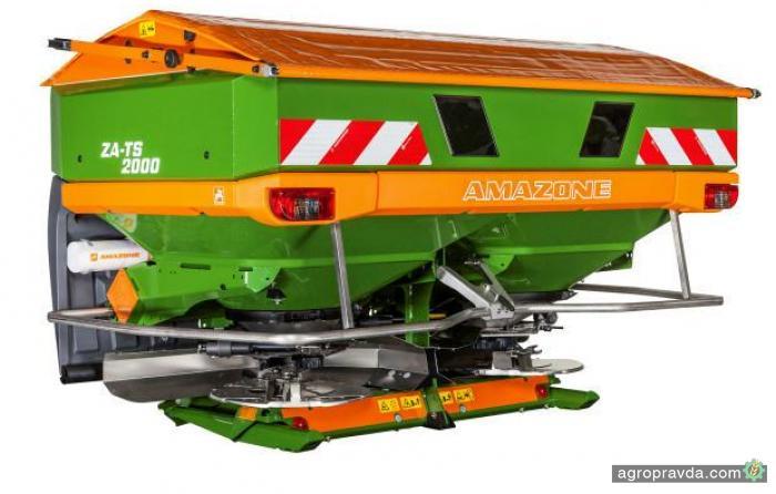 Amazon расширил линейку разбрасывателей серии ZA-TS