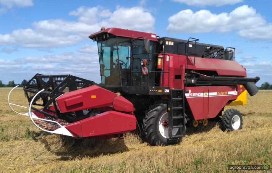 «Гомсельмаш» презентует новый зерноуборочный комбайн