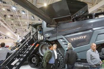 Международную выставку атаковали черные комбайны