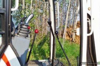Тест-драйв мини-экскаватора Terex TC-35
