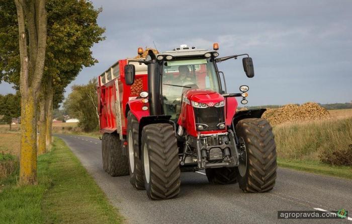 Massey Ferguson обновил тракторы серий 7700s и 8700s