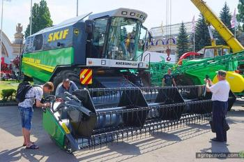 Какие комбайны посмотреть на выставке Агро-2018 в Киеве