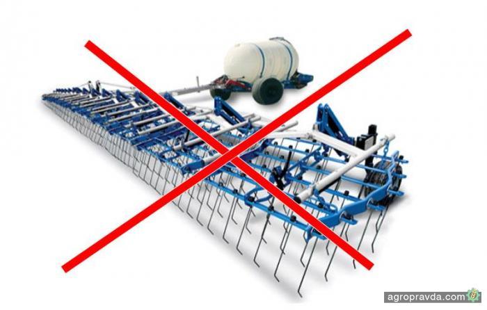 Бороны А3 ТЕХ запретили к реализации в Украине