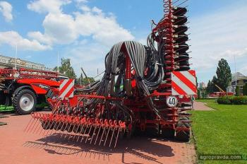 В Украине представлена первая сеялка Kverneland Udrill-600