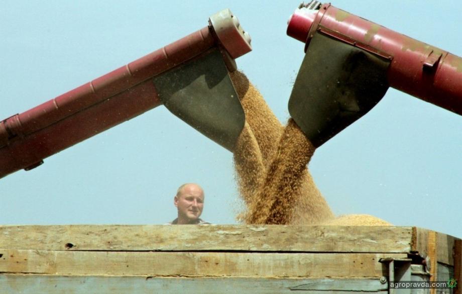 В Украине уже собрано 23,5 млн. т зерна нового урожая