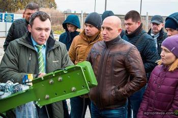 Впервые для проведения семинаров Krone выбрал Украину