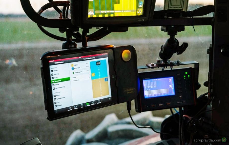 Как работает система управления Väderstad E-Control