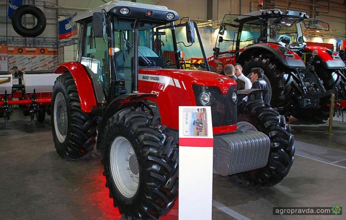 Massey Ferguson представил конкурента МТЗ – MF 400 Xtra