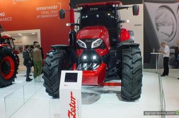 Трактор от Pininfarina. Видео