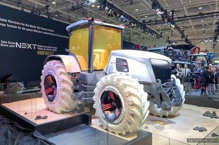 Massey Ferguson представил «лунный трактор»