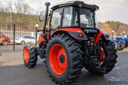 В Украине появился новый бренд 100-сильных тракторов