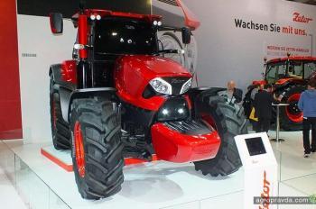 Zetor продемонстрирует прошлое настоящее и будущее тракторов