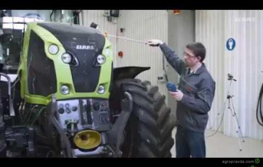 Как создают тракторы CLAAS. Видео