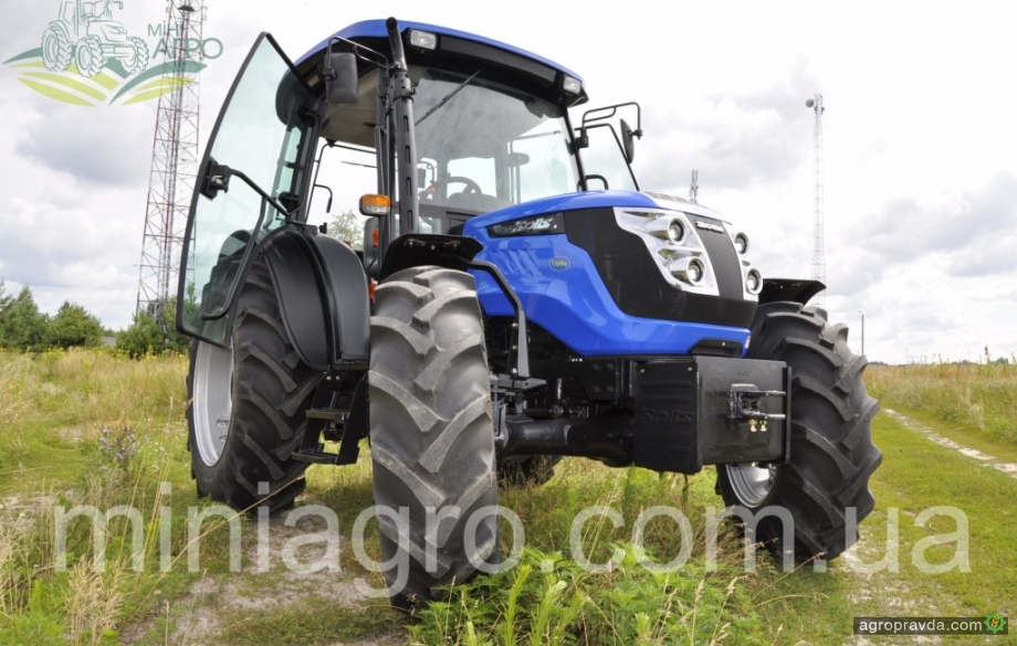 На рынок Украины вышла 100-сильная модель трактора Solis