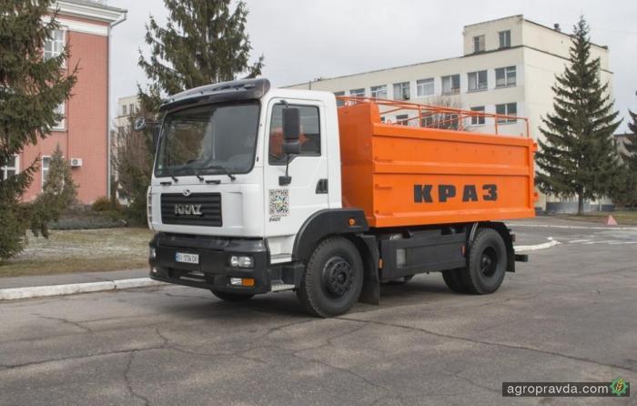 КрАЗ разработал новый самосвал-зерновоз