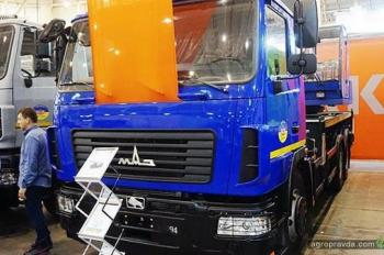 МАЗ сделал ставку на спецтехнику украинского производства
