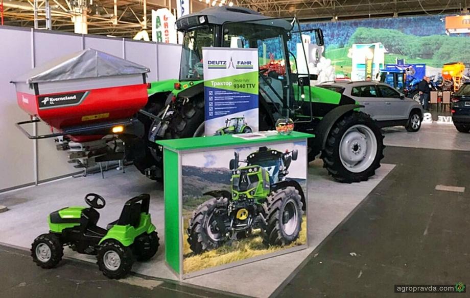 VAIT Agroparthers представил на AgroComplex сельхозтехнику Deutz-Fahr и Kverneland