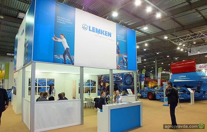 Какие новинки сельхозтехники Lemken представил в Киеве
