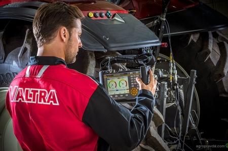 Система Valtra Connect учится прогнозировать техническое обслуживание