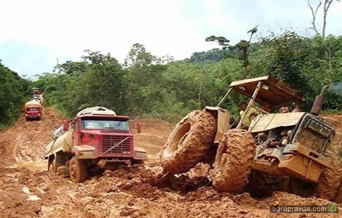 На что способны трактора. Видео