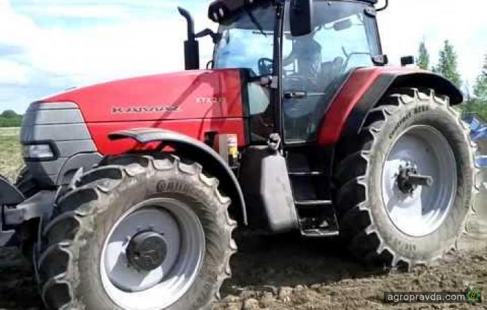 Трактор КамАЗ в работе. Видео