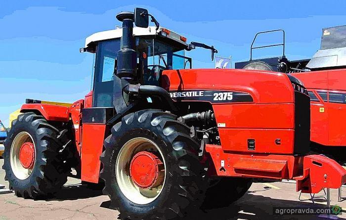 Трактор VERSATILE представят на Международном дне поля