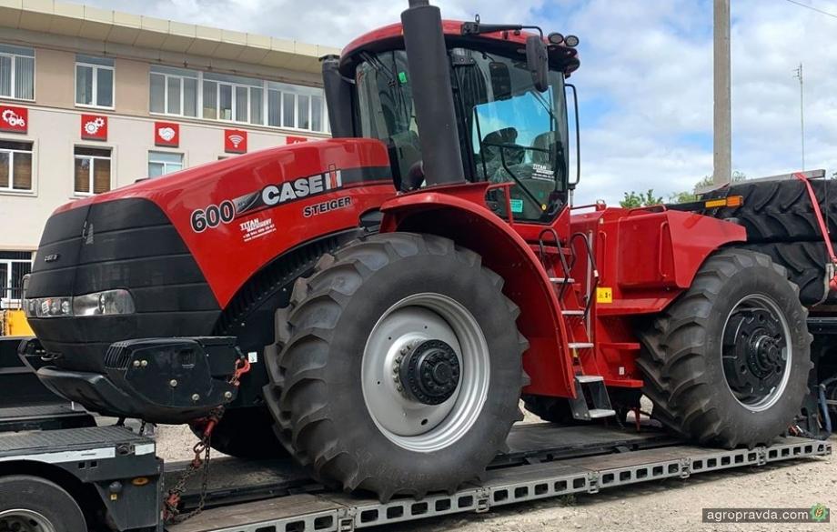 Украинским аграриям отгружен флагманский трактор Case IH