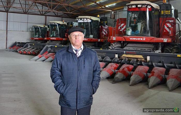 Фермери Харківщини розповідають про техніку VERSATILE