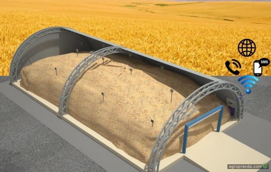 В Украине разрабатывают уникальную систему контроля температуры на зерноскладах
