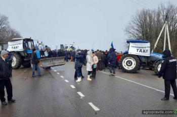 Как сегодня бастовали аграрии. Фото